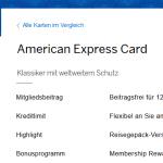 American Express Green Card Kreditkarte – Vorteile